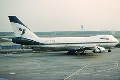 Iran Air Boeing 747-286B EP-IAG (c/n 21217) (Manfred Saitz) Tags: frankfurt airport fra eddf iran air boeing 747200 742 b742 epiag epreg