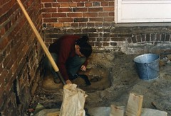 Archaeology at the Rectory (presmd) Tags: archaeology baltimorecity downtown maryland offices oldstpaulsrectory people preservationmaryland restorations baltimorecitymd usa