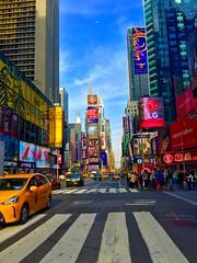 Times Square (Bikas977) Tags: shotoniphone timessquare newyork