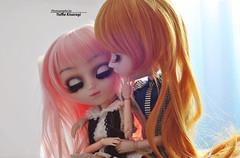 Dark ❤ Light (·Yuffie Kisaragi·) Tags: doll pullip princess rosalind fura taeyang ethan valentin obitsu rewigged rechipped