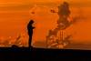 Men at work (jwfoto1973) Tags: haldehaniel ruhrgebiet ruhrpott silhouette silhouetten sonnenuntergang sunset redeveningsky sky schornsteine rauch industrie johannesweyers d7100 deutschland germany bottrop