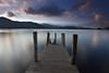 Derwentwater (RHughes5) Tags: pier wood lake water clouds long exposure landscape reflection holiday nikon d5500 light cloud england trip mountains hils calm peaceful atmosphere feel
