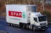MAN - SPAR Supermarket (scotrailm 63A) Tags: lorries trucks supermarkets spar