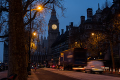 16122016_Big Ben in blue hour (Chicaco11) Tags: chicaco11 nikkor 50mm nikon d750 uk travel travelinuk december london bigben dawn morning