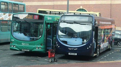 Go North East: 5391 NK15EMV Wright StreetLite