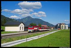 Pinzgauer Lokalbahn 83, Fürth-Kaprun 07-08-2016 (Henk Zwoferink) Tags: piesendorf salzburg oostenrijk pinzgauer lokalbahn henk zwoferink slb tauern zell am see krimml salzburger gmeinder
