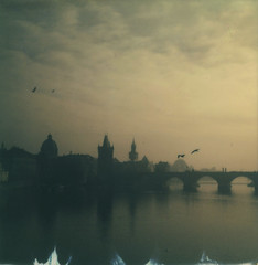 P070 (charlesguerin) Tags: prague impossible project bridge charles landscape river vltava alpha1 sx70
