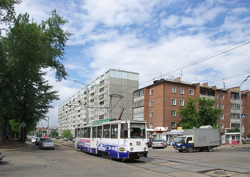 Irkutsk tram 71-605 169 ©  trolleway