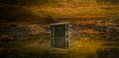What Lies Beneath.  (explore) (Gareth Mon Jones) Tags: reflections snowdonia light