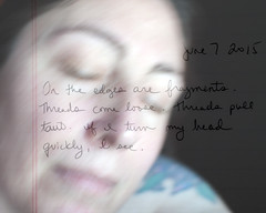 158.365 (sadandbeautiful (Sarah)) Tags: woman selfportrait me composite female writing self 365 day158 layered 365days 365daysx6