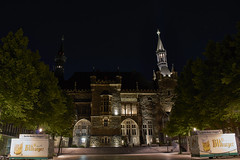 City Hall Aachen (Frank Streve) Tags: city longexposure nightphotography building architecture germany square photography hall spring nikon cityhall architectural nightphoto plein architectuur duitsland nachtfotografie architecturalphotography 2015 d3200