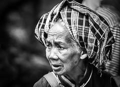 Apprehension (Redust) Tags: china monochrome sadness oldwoman dailylife guizhou 5photosaday eggseller