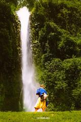 Like a Dream #TripTime (fer5275) Tags: green nature girl french waterfall colombia dream ritual putumayo ayawuasca yaj triptime