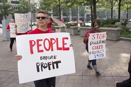 340B Drug Pricing Protest