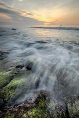 Kure Beach Sunrise (Avisek Choudhury) Tags: longexposure sunrise gitzo fortfisher kurebeach leefilters nikond800 singhrayreversegnd avisekchoudhury acratechballhead nikon1635mm avisekchoudhuryphotography