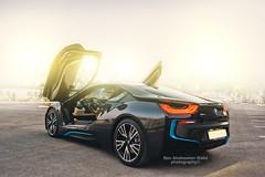 BMW i8 (3afsa) Tags: black car sport nikon tunisia bmw rims sousse i8 d700 worldcars