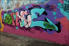 Space (Alex Ellison) Tags: urban graffiti boobs space graff trackside northlondon cityrollers