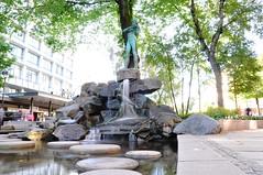 Fontanna OIe Bulla | Ole Bull Fountain