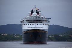Disney Magic (sindre97) Tags: cruise summer june norway juni norge ship magic disney fjord passenger lesund aalesund 2015 passengership slinningen dinseymagic