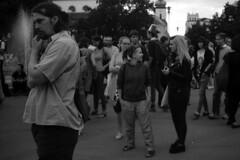 Elikon 35S - Antifascist and Pro-Refugee Demonstartion in Brno (Kojotisko) Tags: bw film vintage lomography streetphotography retro brno demonstration cc vintagecamera czechrepublic streetphoto rodinal antifascist selfdeveloped raly fomapan400 elikon35c elikon35s elikon35
