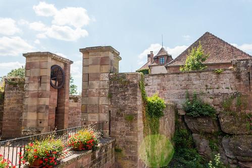Entrée du château de la Petite-Pierre
