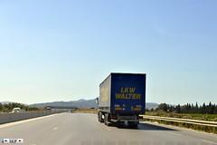 German trailer Tunisia 2015 (seifracing) Tags: road port cops harbour tunisia police vehicles national vans van emergency hammamet polizei garde spotting services polizia 2015 remorque allmend seifracing radess