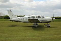 G-KAIR (Rob390029) Tags: light plane aircraft transport transportation transit piper propeller prop airfield pa28 fishburn gkair