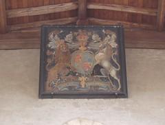 Royal Arms, Tredington (Aidan McRae Thomson) Tags: church painting warwickshire royalarms tredington