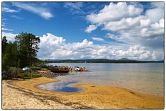 Fra Femundsenden (Krogen) Tags: summer norway landscape norge sommer norwegen krogen landskap hedmark femunden engerdal olympuse400