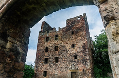 Redhouse Castle (Will Gell) Tags: house tower castle scotland nikon ruin scottish sigma redhouse east will lothian gell 1770mm d7000