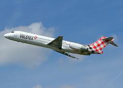 EC-MFJ Boeing 717-2CM Volotea Airlines (Keith B Pics) Tags: boeing 717 palma southend sen b717 voe sereo echnz egmc ohblh n9010l volotea voe9510