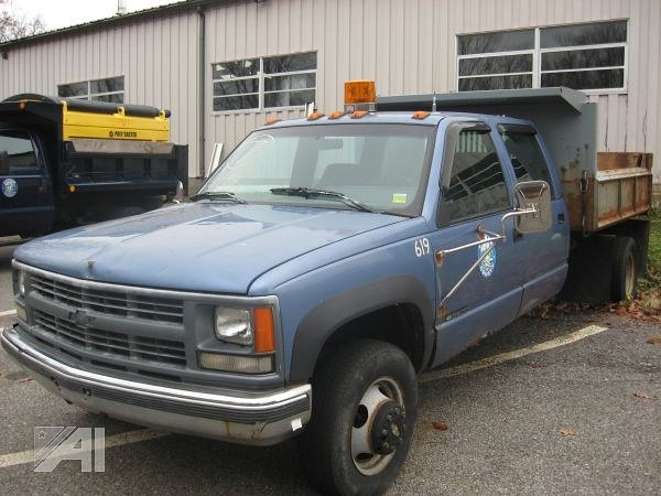 county ny chevrolet truck 4x4 dump chevy 350 government municipal putnam 3500 highwaydepartment crewcab