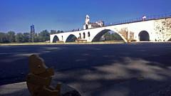 Avignon (Pont d'Avignon) (.(Punkt)) Tags: teddy france pont davignon bridge