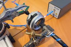 Leica M-lens transmission measurement (The^Bob) Tags: spectrum stsuv deuterium lamp transmission lens filter uv visible photography