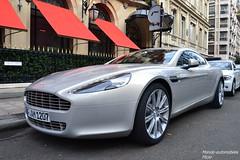 Aston Martin Rapide (Monde-Auto Passion Photos) Tags: auto automobile astonmartin aston martin rapide france paris supercar sportive