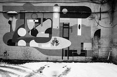 (赤いミルク) Tags: ストリート inspiration provoke grain vignette blackandwhite monochrome ビンテージ ビニル black romantism gothic コントラスト 赤 red ウォール wall ゴースト 悪魔 ghost 友人 ドア doors 贈り物 gift 地平線 horizon モノクローム 暗い street 壁 surreal intriguing 生活 life architecture text door texture 秋 雨 mist water 賞賛 影 白黒 abstract depth field minimalism pattern writing lock secret outdoor