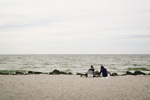 Midsummer at the beach on Hiddensee, Baltic Sea (Germany)