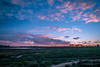 Sunset on the Upper Newport Bay at low tide. (halladaybill) Tags: newportbeach california unitedstates us uppernewportbay pacificsunset sunset clouds newportbayconservancy