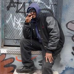 DSC02557 (Moodycamera Photography) Tags: topw2017rs garfitialley toronto ontario squareformat rx100 sony minimalist portrait photowalk queenstreet garfitti wallart