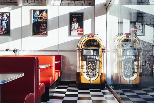 Soda Rock Diner jukebox - Jam Factory, Melbourne