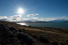 sunset, lago argentino, el calafate (nortondudeque1) Tags: argentina el calafate ushuaia patagonia tierra del fuego nikon d610 ice blue perito moreno sierra les eclaireurs sunset nimez