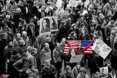 The First Amendment (MBates Foto) Tags: womensmarchonspokane women march thefirstamendment freeedom portest freespeech blackandwhite monochrome spokane washington inlandwashington easternwashington pacificnorthwest streetscenes unitedstates nikon nikonfx nikond810 photojournalism newsrelease unitedsatets 99201 ngc