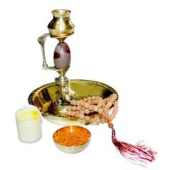 Shivling Abhishek Set, Nandi Shivaling Abhishek Set Vedic Vaani (vedicvaani) Tags: set abhishek shivling nandi shivlingam abhishekam yonibase mala japa powder kesarchandan