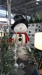 Bonhomme de neige décoratif (Mucha Watson) Tags: bonhommedeneige snowman décoration noël