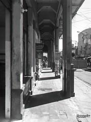 Portal Caruso Hermanos, sobre la Calle Delgado, San Salvador, El Salvador. (Alexseander R. Antonio) Tags: portalcarusohermanos sobrelacalledelgado sansalvador elsalvador calle delgado elviejosansalvador antaño caruso aleman