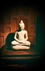 Thailand (8) (The Spirit of the World (Away)) Tags: antique ancient relic collection jimthompson bangkok thailand teak 1987 houseontheklong print film analogphotography oss spy collector wood historical architecture old asia southeastasia buddha