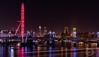 """ A View From Waterloo Bridge "" (SJAviation.net) Tags: bigben westminster londoneye nikon london longexposure thecity nightshoot nightphotography victoriaembankment waterloobridge goldenjubileebridge"