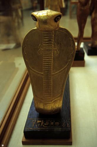 Ägypten 1999 (617) Kairo: Thronsessel, Ägyptisches Museum
