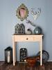 Winter setup (Levitation_inc.) Tags: ooak doll display diorama room setup table 16 playscale winter christmas lantern vase mirror chalkboard wreath