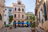 Charming small plaza in Old Havana-Cuba (danielacon15) Tags: cuba 2016 havana plaza urban city outdoors day blue umbrellas architecture sculpture